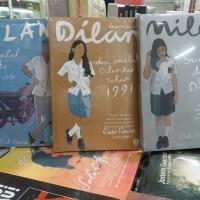 BUKU NOVEL Paket 3 Buku Pidi Baiq ( Dilan 1,2 dan Milea )