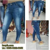 Celana Jeans Sobek Untuk Hijab Terbaru