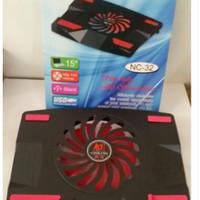 kipas angin pendingin laptop Cooler Cooling Pad leptop 1 Fan NC -32
