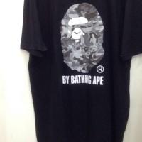 50d1ca36c9c9 T-Shirt Bathing Ape Bape Big Head x Stussy Mastermind Mirror Quality