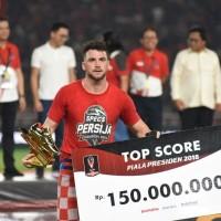 KAOS T-SHIRT PERSIJA CHAMPION 2018 PIALA PRESIDEN