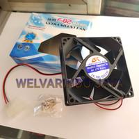 Fan casing / fan cpu / cooler fan cpu hitam 8 cm