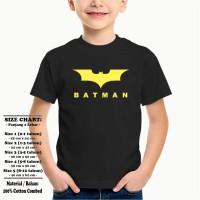 Kaos Baju Superhero Anak -Batman Topeng - HITAM.jpg- Ready Ukuran Bayi