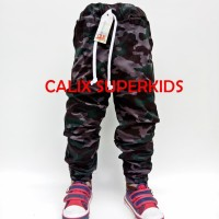 Celana Anak Jogger Army (4-8 Tahun) Celana Panjang Anak Unisex