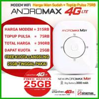 Modem WiFi MiFi Andromax M3Y & M3Z 4G LTE (FREE KUOTA 30 GB)