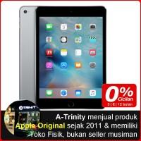 BNIB iPad Mini 4 Wifi Cellular 32GB Space Grey GARANSI APPLE 1 Tahun