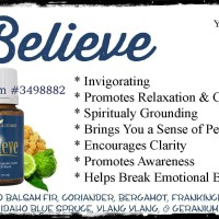 Young Living Essential Oil Believe