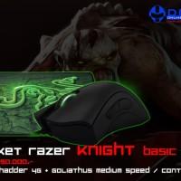 Paket Razer Knight Basic (Mouse Razer Deathadder 2013 + Mousepad G