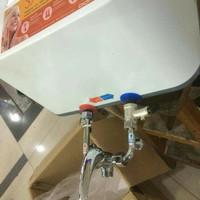 Harga kran shower panas dingin mini mixer water heater instan tanpa | Hargalu.com