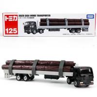 Tomica Long 125 Isuzu Giga Wood Transporter