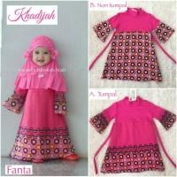 Baju Muslim Anak Balita TK, Gamis KHADIJAH Series by Maysuun Baby Kids