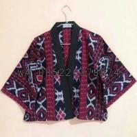 blazer blus dress kemeja batik tenun Jepara Tenun blangket tenun sumba