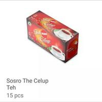 Teh sosro celup isi 15kantong bundling 3pc