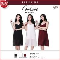 8cb6dccea Fashion Wanita Dress Midi Mini Maxi Pesta Korea Gaun Fortune Trending