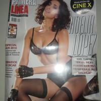 Majalah pria dewasa Primera Linea impor dari Spain (free DVD)