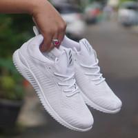 sepatu casual running adidas alphabounce 2 full putih unisex 36-44