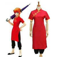 SET COSTUME COSPLAY GINTAMA KAGURA