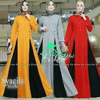 gamis baju maxi premium branded dress longdress pesta muslimah syari