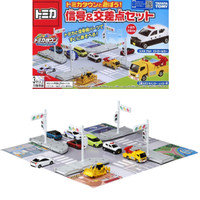 Tomica Town Gift Map Signal and Intersection Set