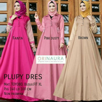 gamis maxi longdress baju pesta mewah pernikahan wedding premium dress