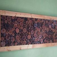 Jual Hiasan dinding ornamen dari kayu asli handmade Murah