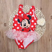 Minnie Red Polka Tutu Kids Swimwear/Swimsuit/Baju Renang Anak/Bayi