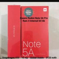 Hp Xiomi Redmi Note 5A Pro (Xiaomi Mi 5 A) - Ram 4/64Gb - Gold / Emas