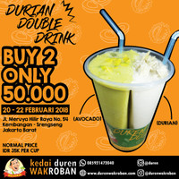 Durian Double Drink , Durian Couple , Durian Couple Cup