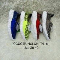 Sepatu Rajut / Anyaman / OGGO / Wanita / Flat 916 Bunglon