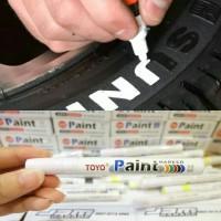 SPIDOL BAN PUTIH ORIGINAL TERMURAH ASLI TOYO PAINT MARKER PUTIH