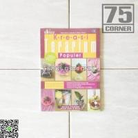 Kreasi Terarium Poluler Buku Dekorasi Rumah Modern Tanaman Hiasan