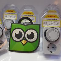 Saklar Timer 24 Jam /stop kontak Timer / stop kontak Otomatis
