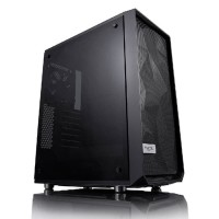 Fractal Design Meshify C TG - Tempered Glass Black