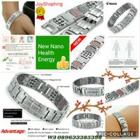 Gelang Kesehatan Titanium Nano Magnet energi
