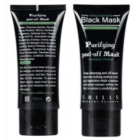 Shills Masker Wajah Black Cream Acne Pulling Mask 50ml