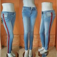 Jual celana levis wanita model sekarang celana jeans wanita lof white