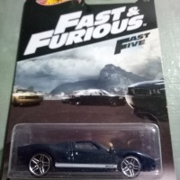 Hot Wheels HW Fast and Furious Fast Five Ford GT-40 2016 US Card