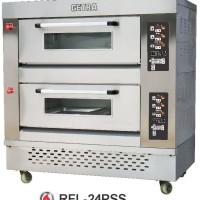RFL-24PSS Gas Pizza Deck Oven / Oven Pemanggang Pizza Gas dan Listrik