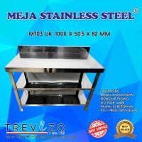 Berkualitas Meja Serba Guna Meja Dapur Kompor Stainless Steel MT 3 Ra