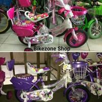 Sepeda anak perempuan mini 12 inch Exotic 3 7 tahun BEST PRODUCT