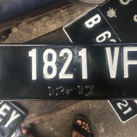 Plat Nomor Mobil Standar Samsat
