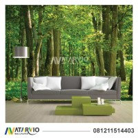 Wallpaper Custom Murah - Wallpaper Custom Gambar Hutan 3d