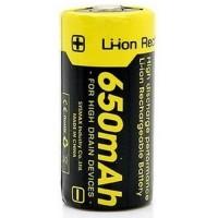 NITECORE RCR123A Rechargeable Li-ion Battery 650mAh 3.7V - NL166