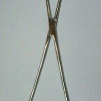 Uterine tenaculum forcep / tena kulum / tena culum 25 cm - stenliss