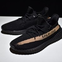 Adidas Yeezy Boost V2 350-SPLY Core Black Copper Original Premium