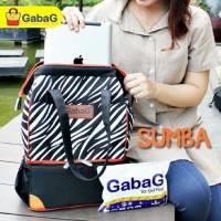 Gabag Cooler Bag Motif Sumba - Tas Penyimpan ASI (Free Ice Gel 2 Pcs)