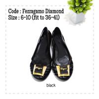 Flat Shoes fer4 Diamond