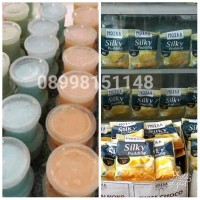 Silky Pudding  Powder Pudding MOIAA Bubuk Bahan Puding 100gr
