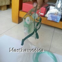 Masker Oksigen Sungkup O2 Hi Oxy Mask Non Rebreathing Anak Child