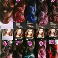 Hair Clip Ombre Curly Hair Clip Big Layer Ombre Hair clip Korea